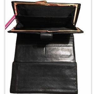 Tignanello Lamb Leather Trifold Wallet